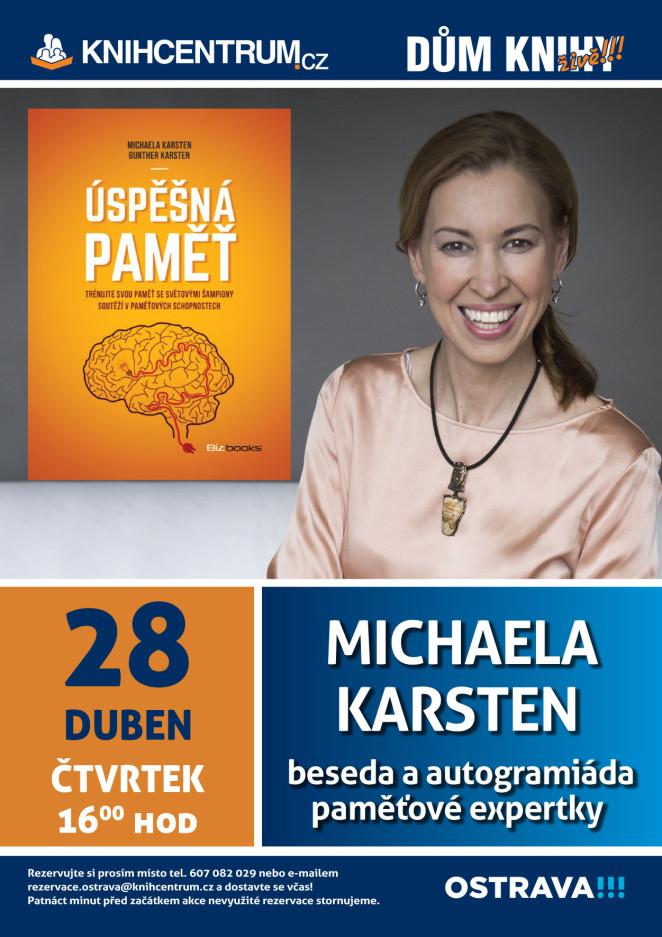 Plakát - propagace Knihy Úspěšná paměť